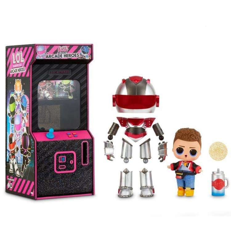 L.O.L Surprise Boys Arcade Heroes Gear Guy lalka w automacie do gier
